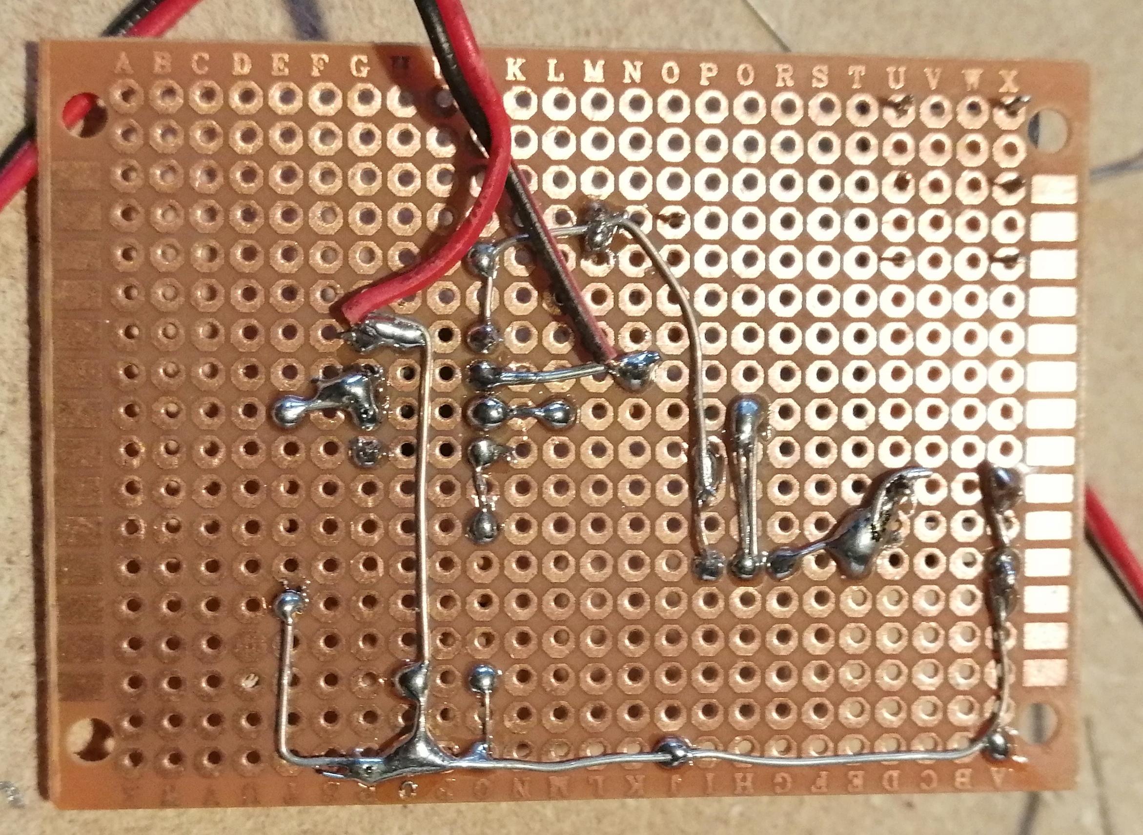 Retro basetta millefori - Interruttore crepuscolare