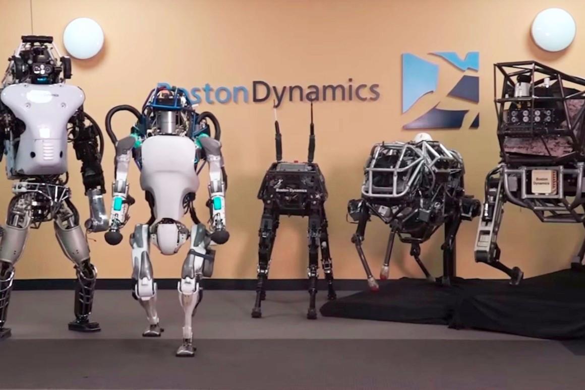 Robot della Boston Dynamics