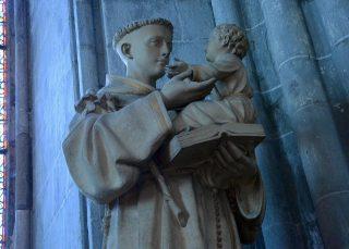 Statua di Sant'Antonio col Bambino
