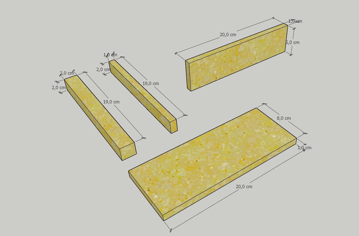 Cantinetta Portabottiglie Componenti di base