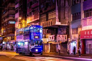 Bus a Hong Kong