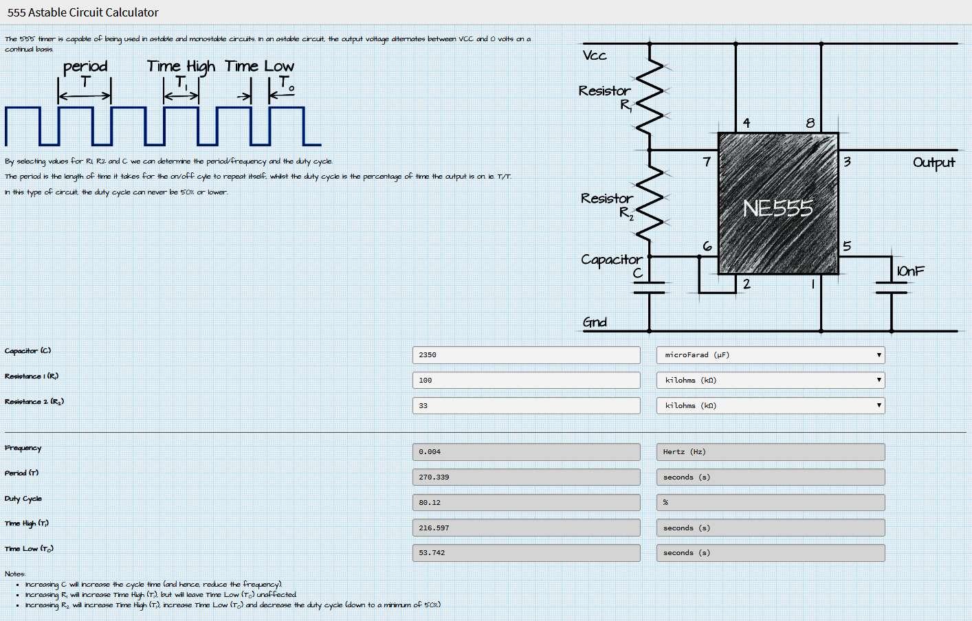 Interruttore Radiocomandato con Sensore di corrente - Circuito Timer con NE555