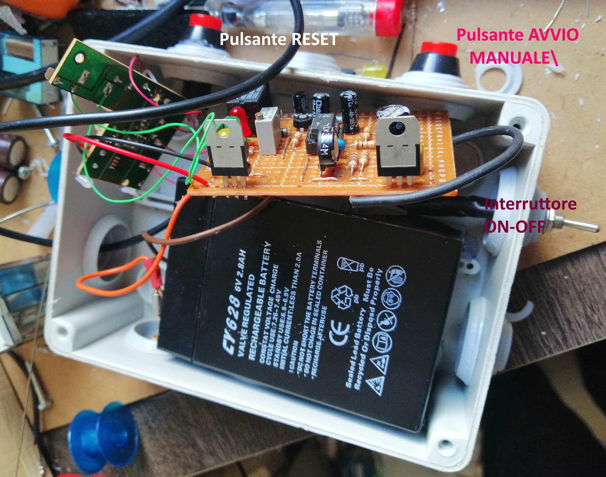 Interruttore Radiocomandato con Sensore di corrente - Nuove funzioni e cablaggio