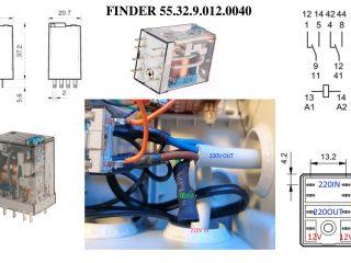 Interruttore Radiocomandato con Sensore di corrente - Pedinatura del rele