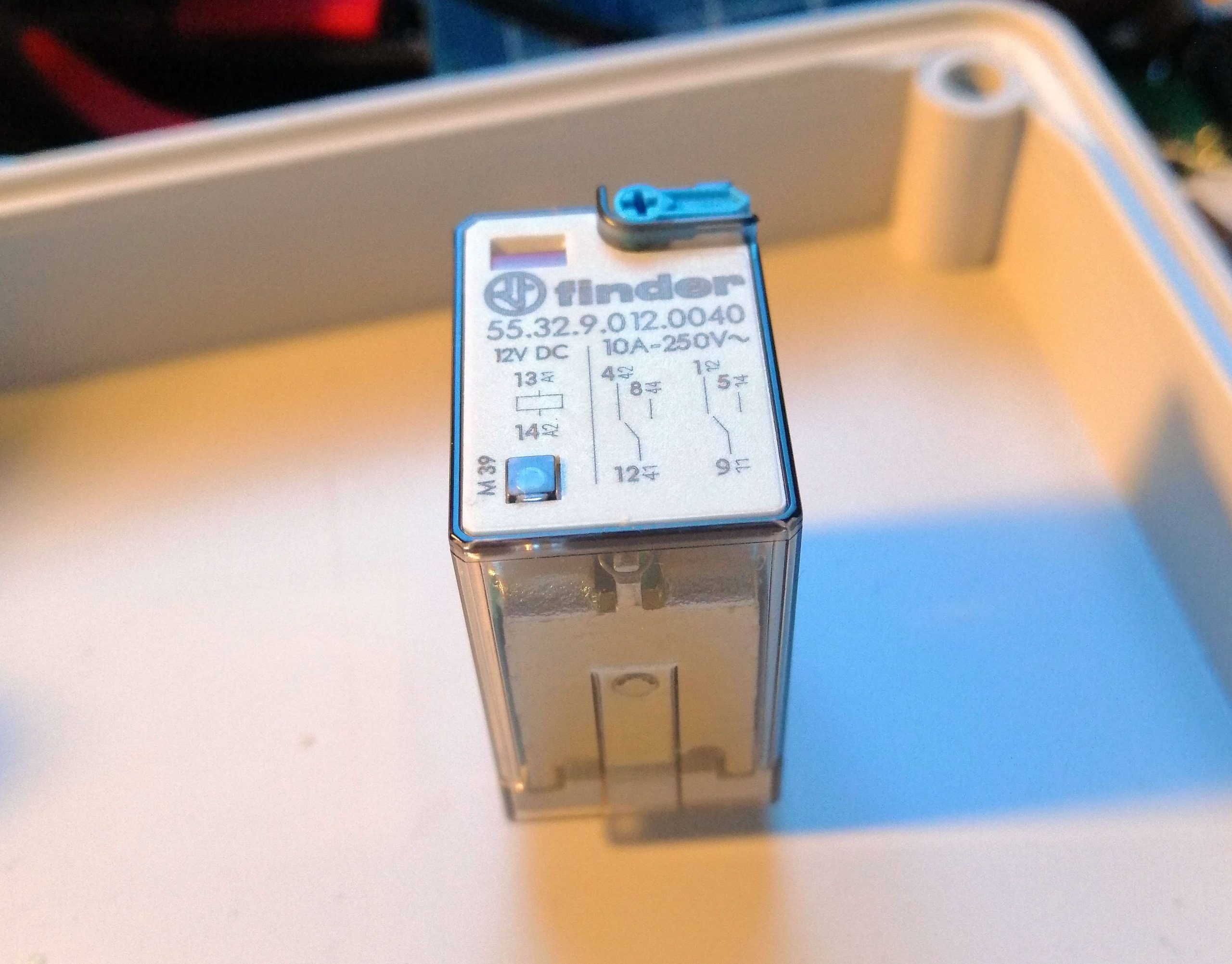 Interruttore Radiocomandato con Sensore di corrente - Rele deviatore 10A 12V
