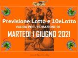 Previsione Lotto 1 Giugno 2021