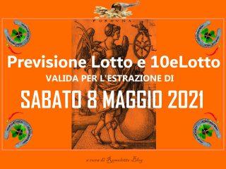 Previsione Lotto 8 Maggio 2021