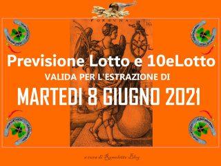 Previsione Lotto 8 Giugno 2021